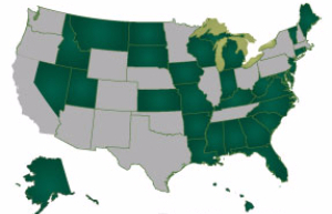 States-Visited-2015